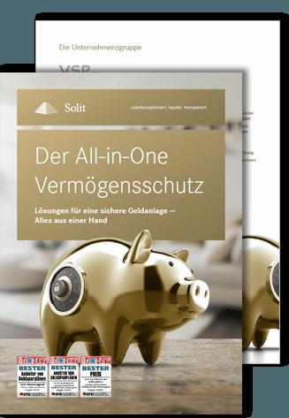 Die SOLIT All in One Vermögensschutz Broschüre