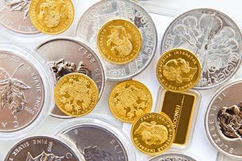 Gold und Silber als Edelmetalle