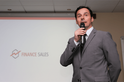 Roadshow Präsentation Finance Sales