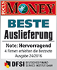 Focus Money Siegel SOLIT - Beste Auslieferung