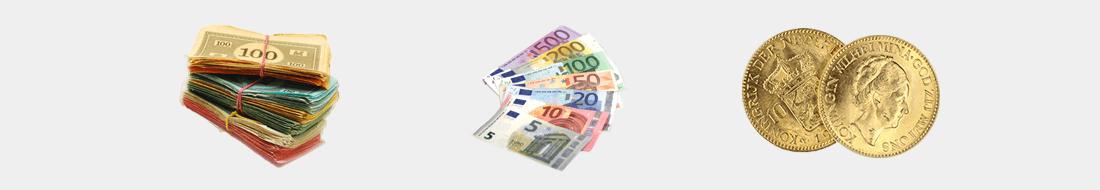 Monopoly - Euro - Goldmünzen