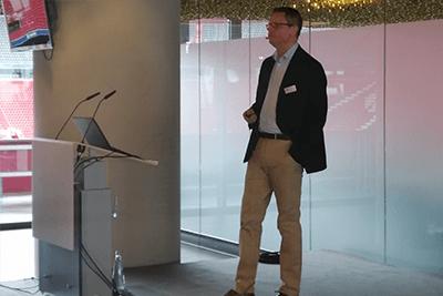 Robert Vitye auf der SOLIT Go for Gold-Tour 2019 in München