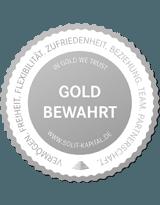 Gold bewahrt - SOLIT Siegel