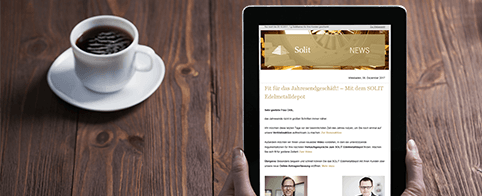Newsletter der SOLIT Gruppe