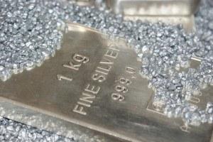 Edelmetall Silber