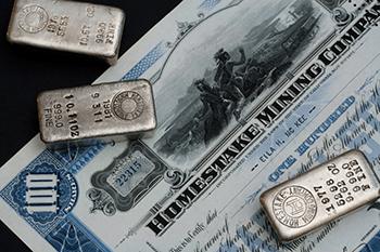 Minenproduktion von Silber