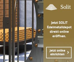 SOLIT Edelmetalldepot direkt online eröffnen.