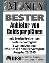 SOLIT Gruppe | Bester Anbieter von Goldsparplänen 2019
