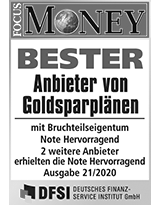 SOLIT Gruppe | Bester Anbieter von Goldsparplänen 2020