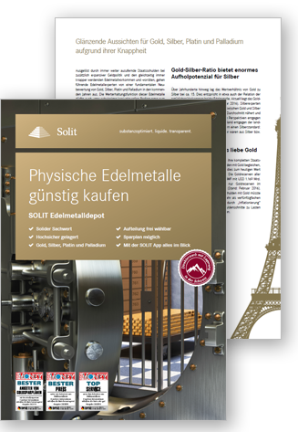 SOLIT Edelmetalldepot - Broschüre