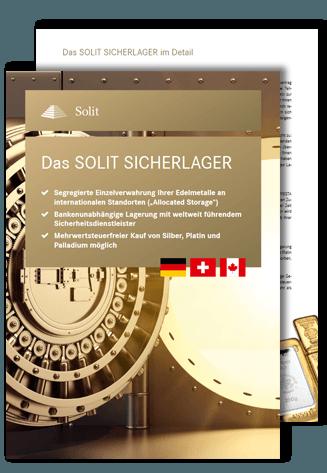 SOLIT SICHERLAGER Broschüre