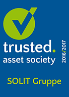 Trusted Asset Society - Siegel - SOLIT Gruppe - Menübild